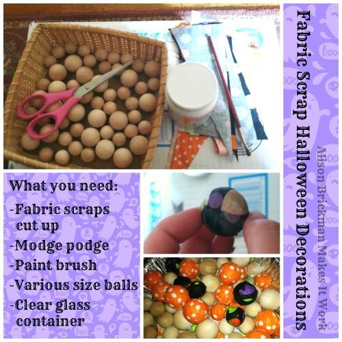 scrap fabric balls