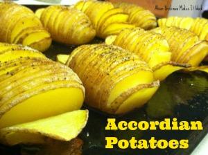 accordian potatoes 1
