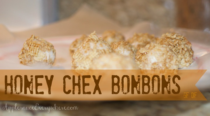 honey chex bonbons